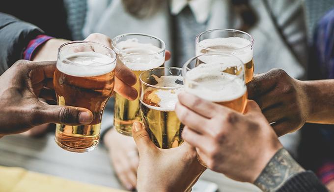 筋トレ アルコール ビール